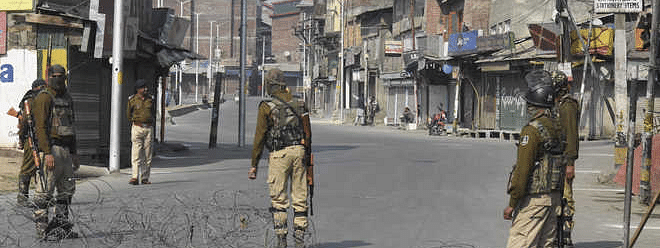 Shutdown completes 13 weeks in Kashmir; train, internet services remain suspended