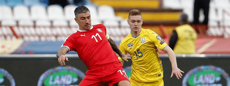 Serbia tie Ukraine 2-2 to miss direct ticket to UEFA Euro 2020