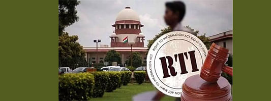 CJI's office comes under purview of RTI act: SC