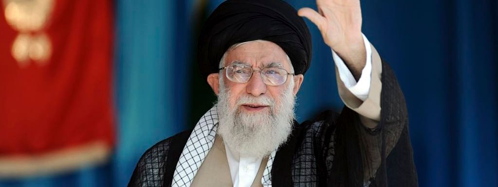 Ayatollah Khomeini rules talks with US
