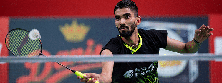 Syed Modi Int'l: K Srikanth enters second round