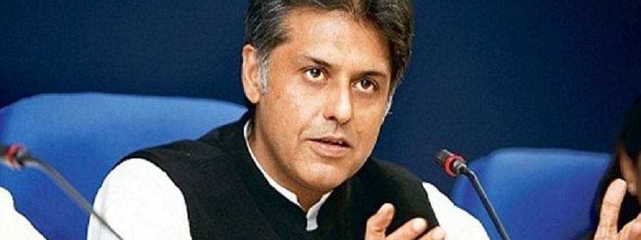 Economic slump, slumping BJP: Manish Tewari