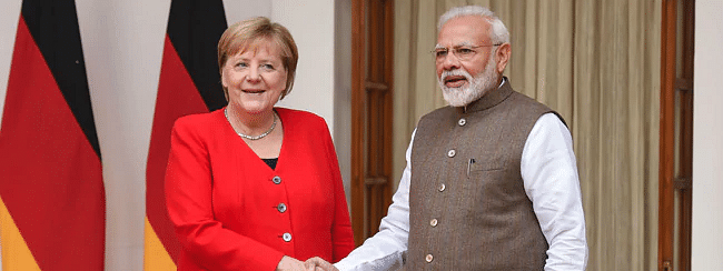 Modi and Chancellor Merkel urge to root out all terror safe havens