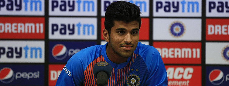 Sundar confident of series win after starring in 2nd T20I against Bangladesh