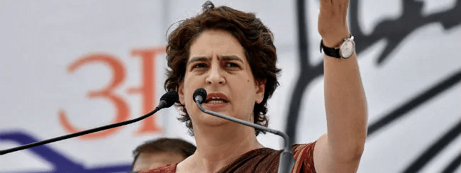 WhatsApp snooping: Priyanka's phone also tapped, says Congress