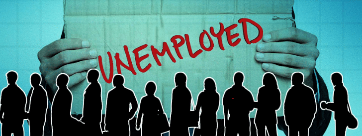 Steep rise in unemployment rate