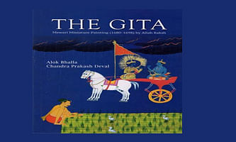 The Gita: Mewari Miniature Painting: An artistic and literary gem