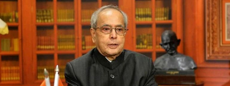 Not worried over slow rate of GDP growth: Pranab Mukherjee