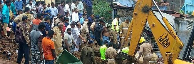 House collapse deaths: one held