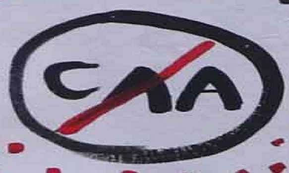 Nagaland organizations protest against CAA