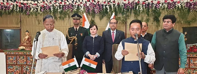 Governor appoints PS Tamang as CM with fresh Oath of Office
