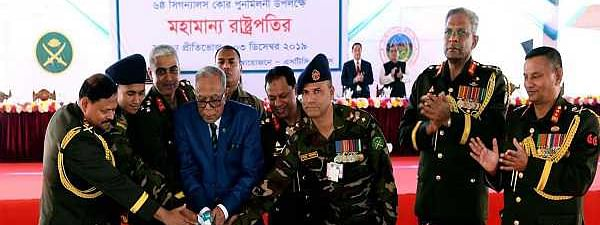 Prioritise public interest and welfare, Bangla President Hamid tells Army