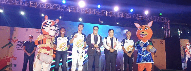 Rijiju launches 3rd Khelo India Youth Games in Guwahati