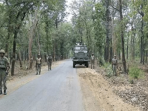 Five ITBP jawans killed in firing