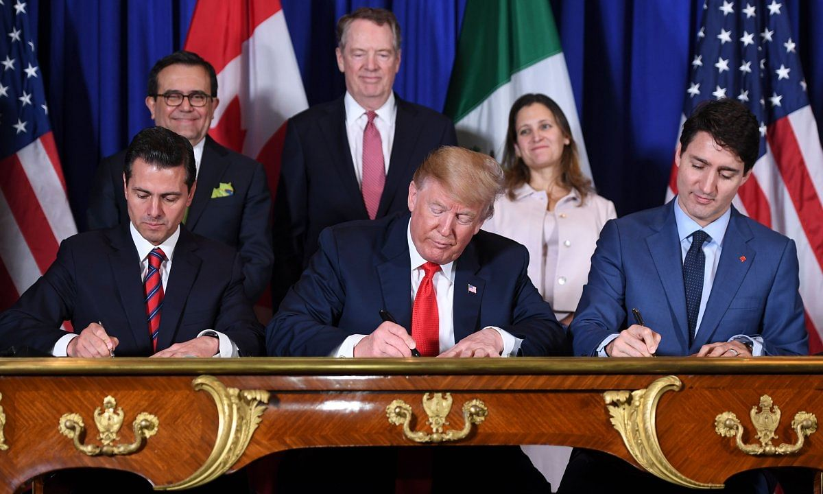 US and Mexico say trade deal is on track