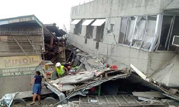 At least 7 killed as result of earthquake in Philippines