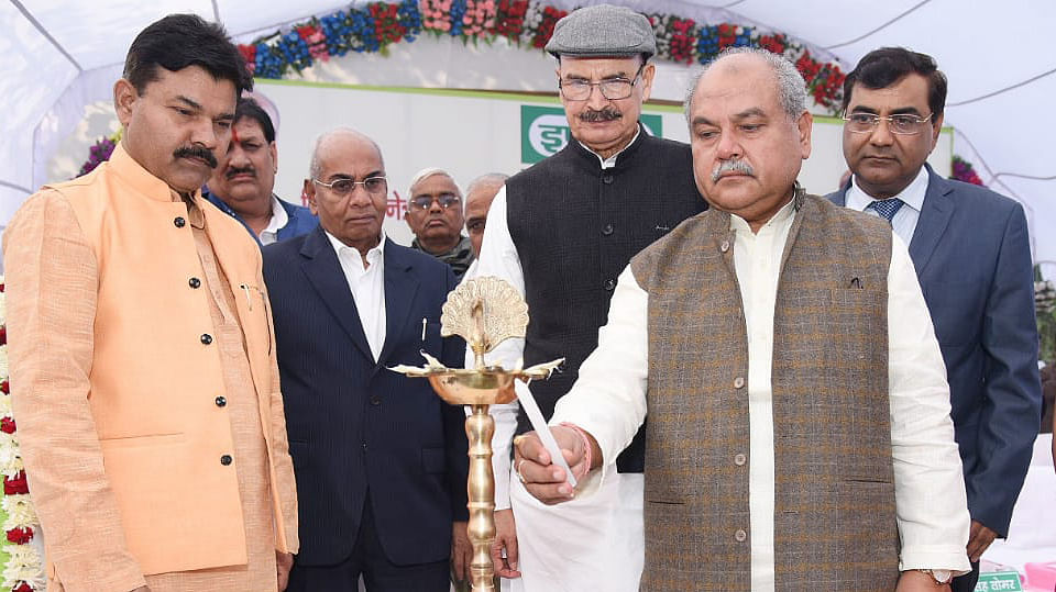 Union Minister Tomar lauds State & IFFCO's venture for benefit of farmers & organic produce