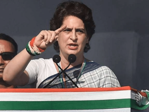 Unnao rape : Priyanka questions delay trial