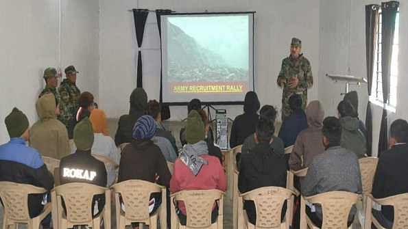 Indian Army's pre-recruitment training in eastern Himalaya