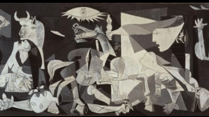 Guernica pic courtesy: Wikipedia