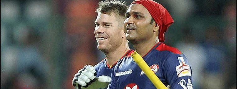 'You're out of your mind' - Warner recalls IPL chat with Sehwag