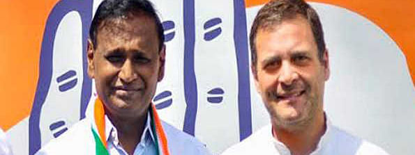 Rahul congratulates Udit Raj on his rally against privatisation