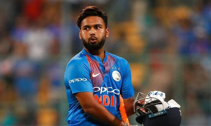 Rishabh Pant finds rhythm with maiden fifty against West Indies