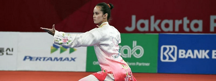 Filipino-Chinese Agatha Wong bags 2 medals at SEA Games Wushu events