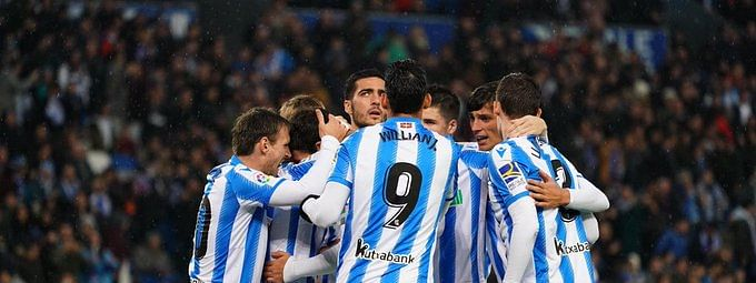 Impressive 4-1 win for Real Sociedad
