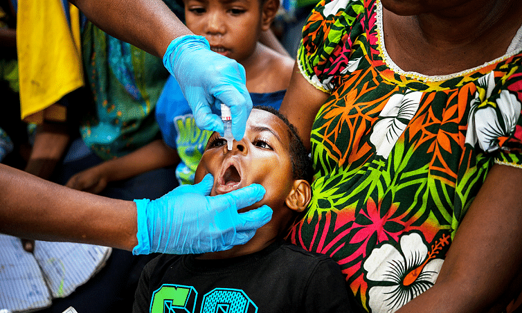 Three African countries curb the outbreaks of polio