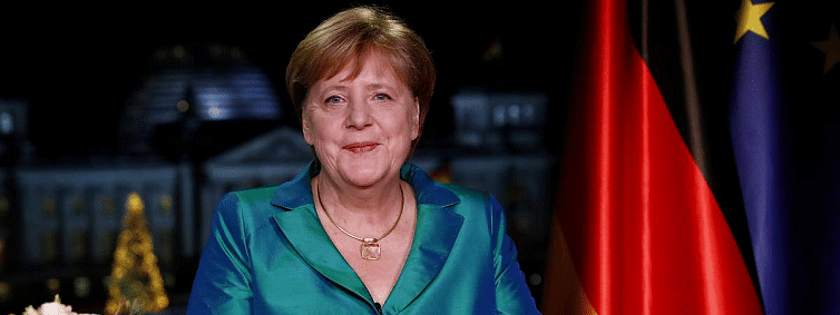 I'm using all my strength to fight climate change, says Merkel