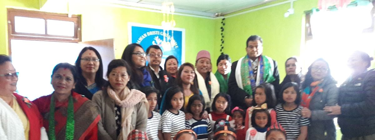Woman raising orphaned children with secular values in Sikkim's Uttarey