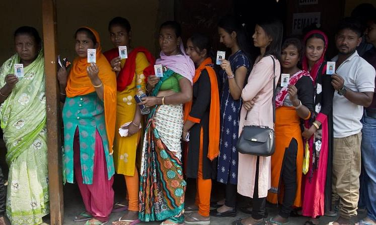 Jharkhand polls: 45.33 pc voter turnout till 1pm in second phase