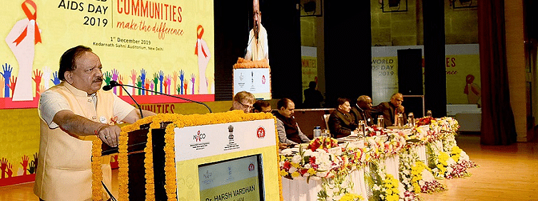 Dr Vardhan hails interaction with HIV patients