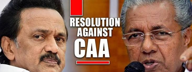 Stalin hails Kerala resolution against CAA