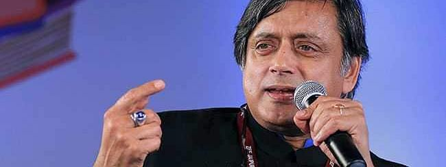 Tharoor laments on arrest of Abdullahs and Mehbooba