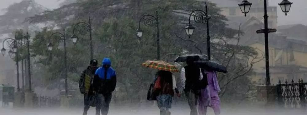 Rain and snow in Himachal