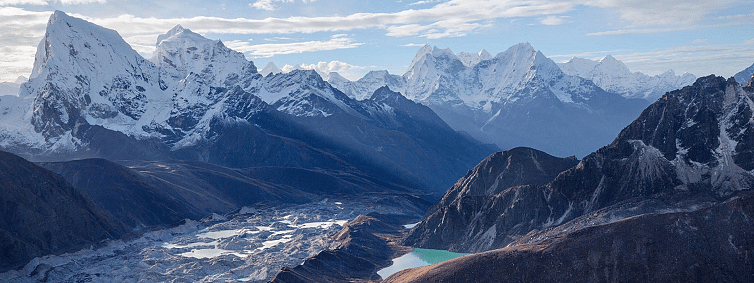 Himalayan glacial lakes on the rise