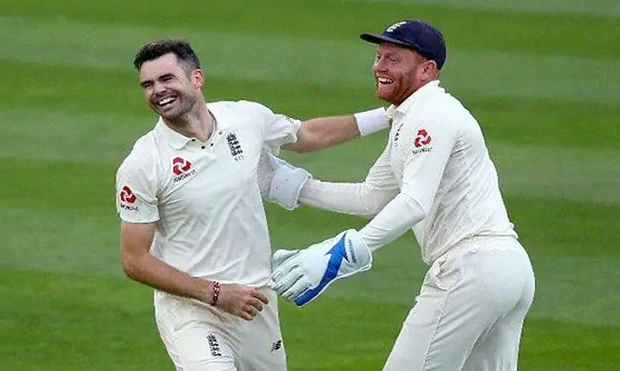 Anderson, Bairstow and Wood return for South Africa Tests