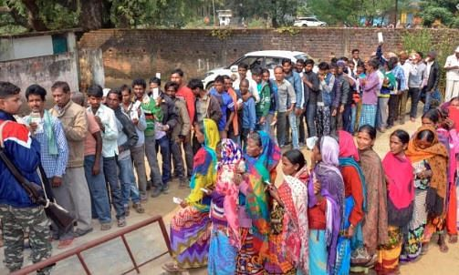 Jharkhand: 62.77 per cent polling recorded in the last phase