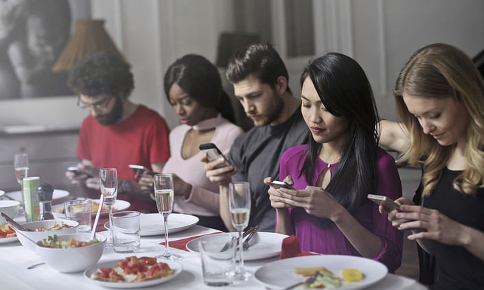 One in four young addicted to smart phones