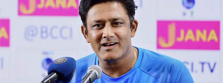 Anil Kumble thanked Modi for sharing his lifestory with students