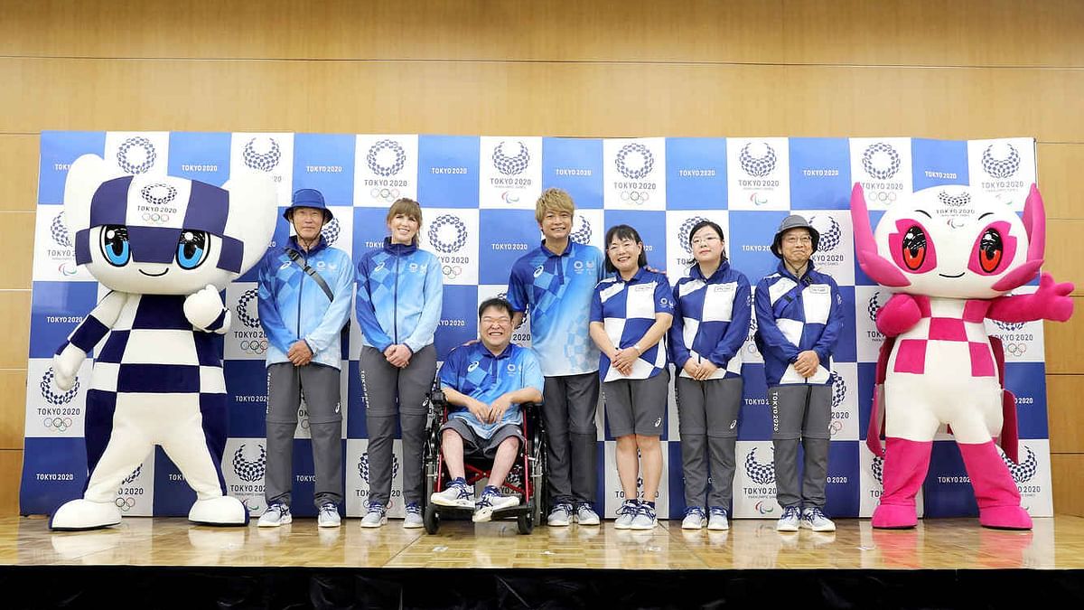 Uniforms unveiled for Tokyo Olympic technical officials