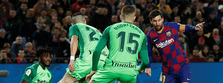 Messi scores twice as Barca brush past Leganes in Copa del Rey