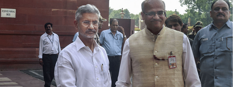 External Affairs Minister extends good wishes to outgoing Foreign Secy Gokhale