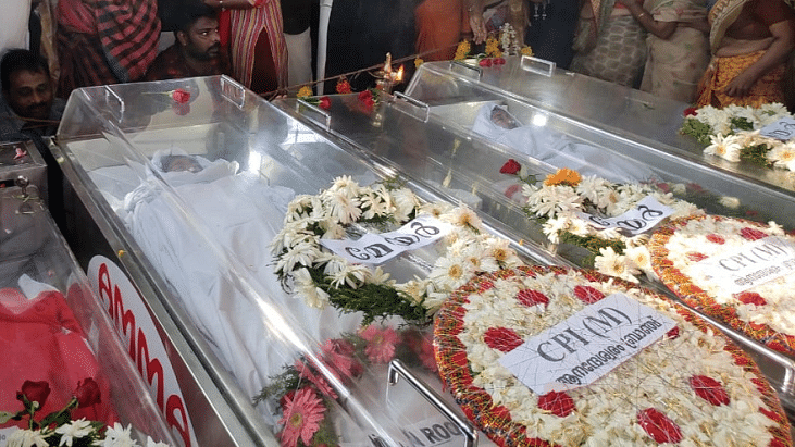 Five Kerala tourists who died in Nepal cremated