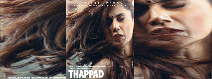 Makers of 'Thappad' reveal first look poster ahead of trailer launch