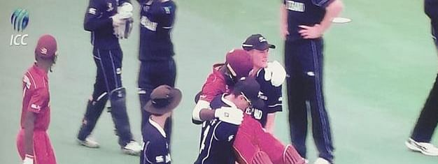 New Zealand U-19 team go viral for  carrying injured Windies player off field