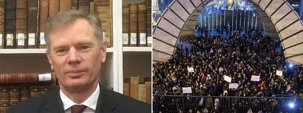 Iran temporarily detains UK ambassador for participation in protests