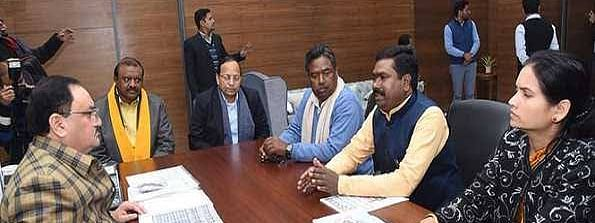 BJP MPs submit report to Nadda on J'khand Pathalgarhi movement